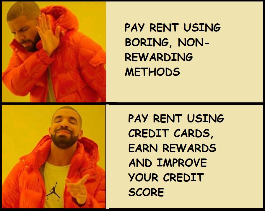 FinanceNerd Rent payment using Credit card